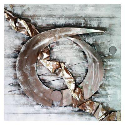 Serie ABSTRACTO | Cuadro abstracto (100 x 100 cm)