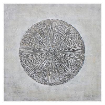 Tableau abstrait avec effet 3D (100 x 100 cm) | Série Abstrait