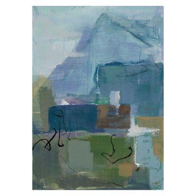 Serie ABSTRACTO | Cuadro abstracto multicolor II (50 x 70 cm)