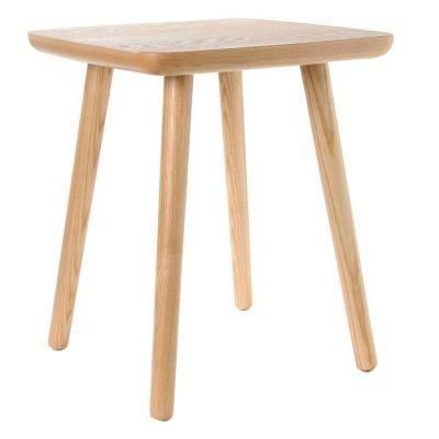 LEZQUER | Mesa auxiliar en madera de fresno (46 x 46 x 54 cm)