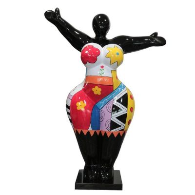 Serie FIGURAS FEMENINAS XL | Figura femenina Xena multicolor