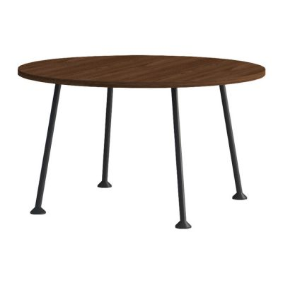 Table d'appoint (Ø60 cm x H 35,6 cm) | Série DOGGIE WALNUT
