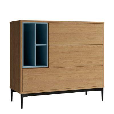 Buffet (103,4 x 39,6 x 95 cm) | Série ONNIE BLUE