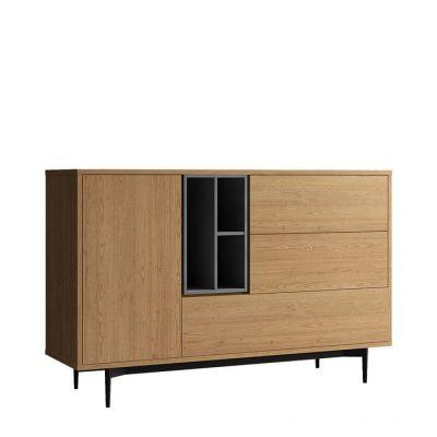 Buffet (145,3 x 39,6 x 95 cm) | Série ONNIE GREY