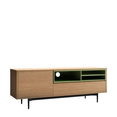 ONNIE Green | Mueble para TV (155 x 40 x 60)