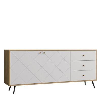 Buffet (176,2 x 39,6 x 76,6 cm) | Série UKKO White