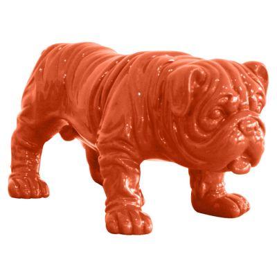Serie ANIMALES XS | TROY Bulldog naranja