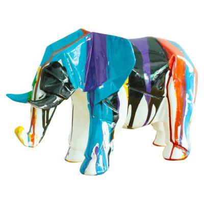 Serie ANIMALES XS   AMUNET Elefante multicolor