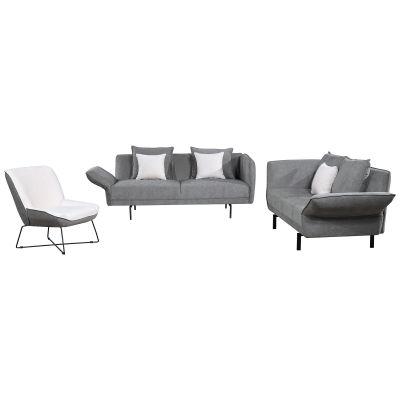 MARCHE | Conjunto de 2 sofás y sillón