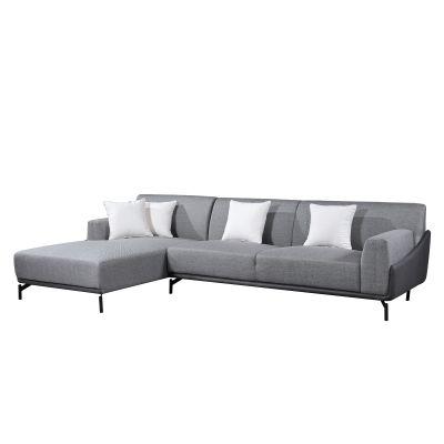 PUGLIA | Sofá con chaiselongue a la izquierda (300 x 90/175 x 80 cm)