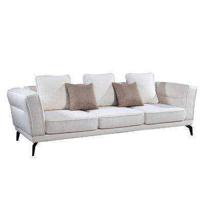 LUCANIA | Sofá de 3 plazas con brazos (255 x 95 x 75 cm)