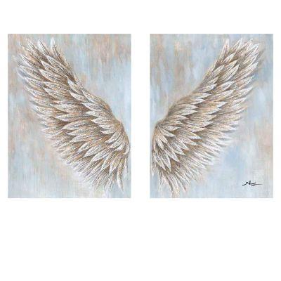 SET Cuadros ala izquierda y ala derecha (90 x 120 cm) | SERIE ABSTRACTO COLOR